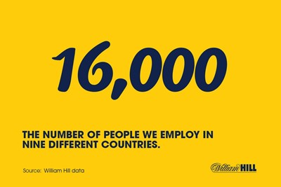 About William Hill around the world...