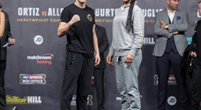 Katie Taylor and Viviane Obenauf  Weigh in sw4 FREEPIX
