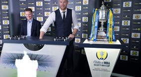 William Hill Scottish Cup Draw 2017