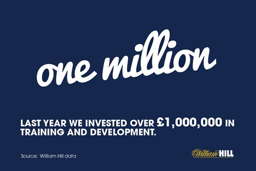 About William Hill's Investment in training...