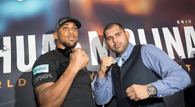 Anthony Joshua vs Eric Molina - Press conference