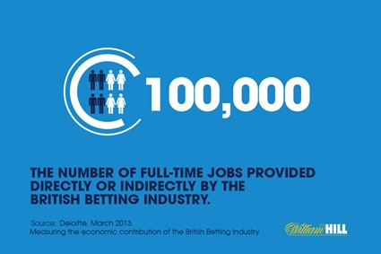 About betting industry jobs...