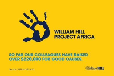 About William Hill's project area...