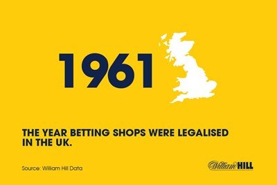 About the history of betting shops...