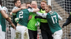 Hibs v Dundee Utd William Hill Scottish Cup Semi Final