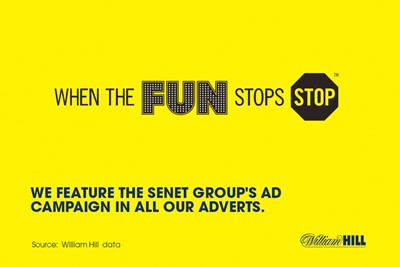 About advertising at William Hill...