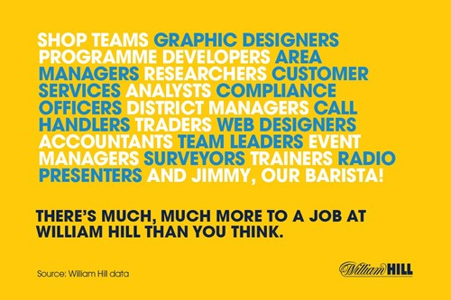 About skills diversity at William Hill...