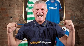 Ian Durrant and Alan Thompson Old Firm