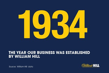 About William Hill's heritage...